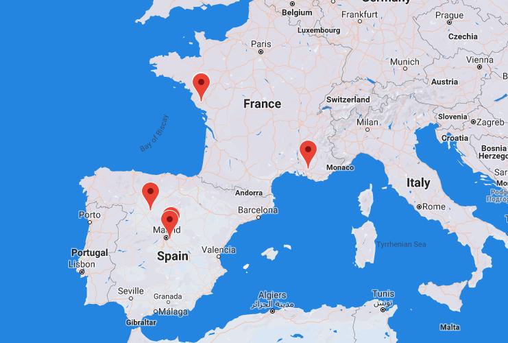 Carte Map